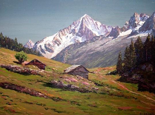 Peinture Paysage De Montagne,Jusqu À 81%